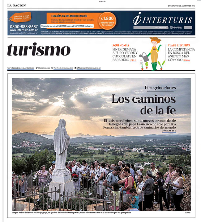 UnFrame Photographer Riccardo Budini gets published in La Nación
