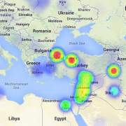 Turkey heatmap
