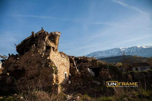 Onna, The village erased by earthquake. L'Aquila