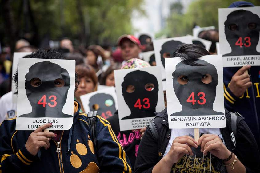 Protest for Ayotzinapa One Year